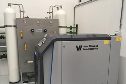Hogedruk compressor