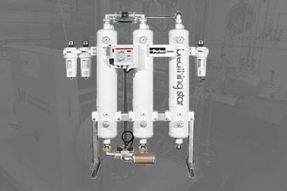 Persluchtinstallatie persluchtkwaliteit Parker Compressoren