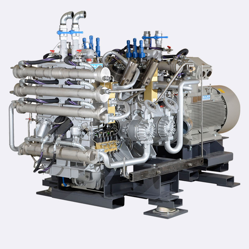 Bauer-GIB-watergekoeld-compressor-Van-Elewout-Kompressoren