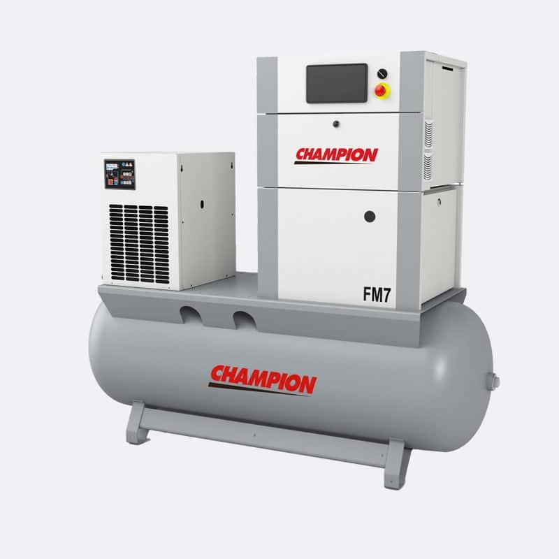 Champion FM07 FM03 Compressor Van Elewout Kompressoren