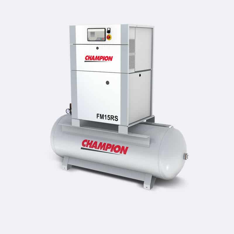 Champion FM15RS Links Compressor Van Elewout Kompressoren
