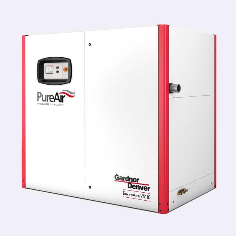 Gardner Denver Schroefcompressor EnviroAire VS110 Internal 36859 Van Elewout Kompressoren