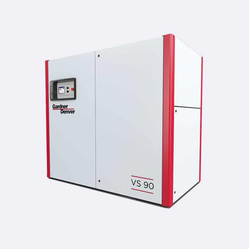 Gardner Denver Schroefcompressor VS90 Van Elewout Kompressoren