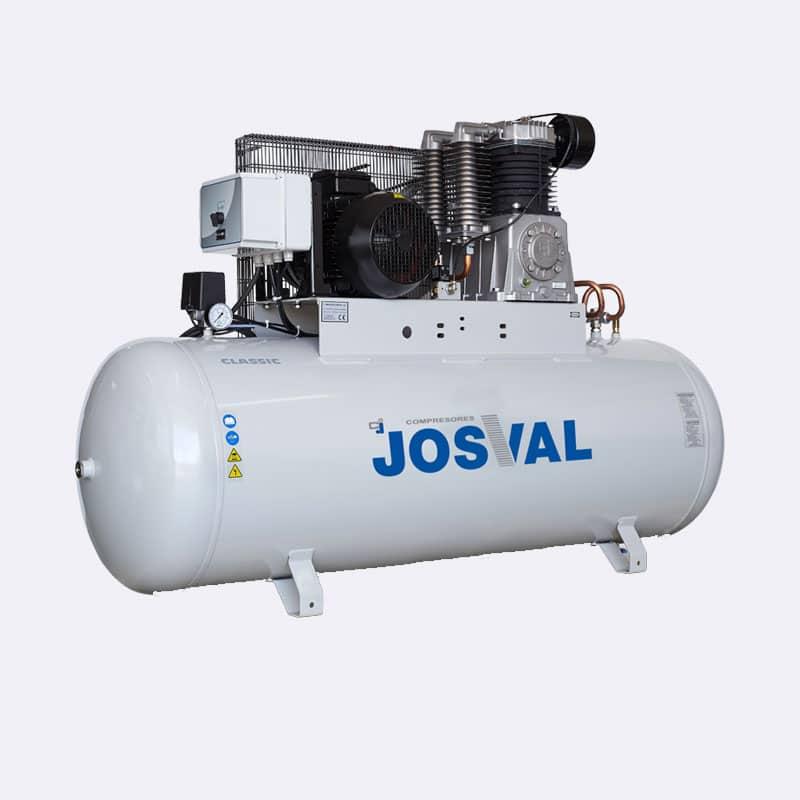 Josval Classic MC-AH-500 Zuigercompressor Van Elewout Kompressoren
