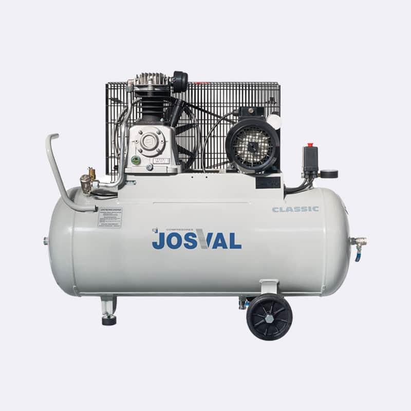 Josval Classic MC-MLC-25 Zuigercompressor Van Elewout Kompressoren