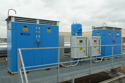 Aardgas compressor industriële toepassingen Gastechniek Van Elewout Kompressoren