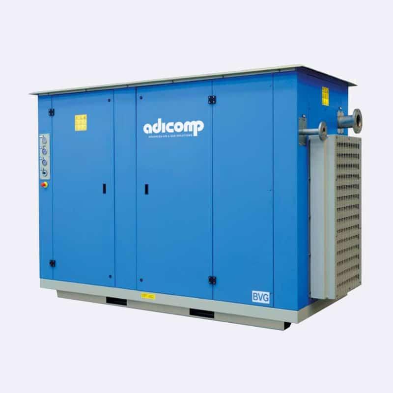 Adicomp BVG CNG compressor Van Elewout Kompressoren