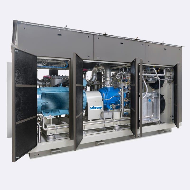 Adicomp UVG 250 Biogascompressor Van Elewout Kompressoren