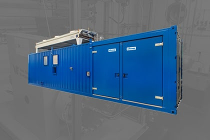 Adicomp UVG biogas compressor Gastechniek Van Elewout Kompressoren