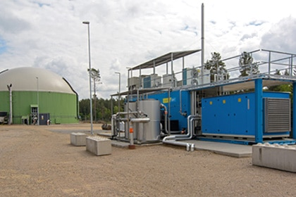 Biogas compressor op maat Gastechniek Van Elewout Kompressoren