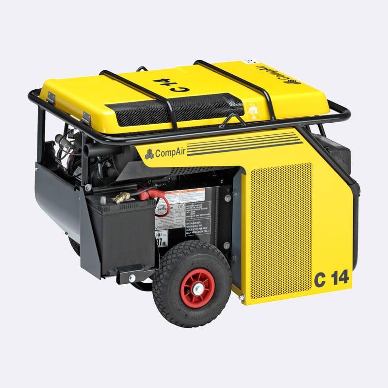 Compair C serie 3093 Van Elewout Kompressoren