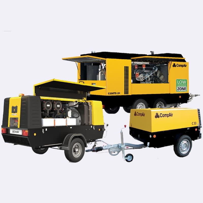 Compair C serie 35510 Van Elewout Kompressoren