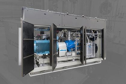Groengas biogas of aardgas compressor Gastechniek Van Elewout Kompressoren
