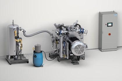 Hoge druk gascompressoren Gastechniek Van Elewout Kompressoren