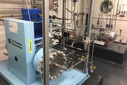Membraan compressor - variatie in gassoorten Gastechniek Van Elewout Kompressoren
