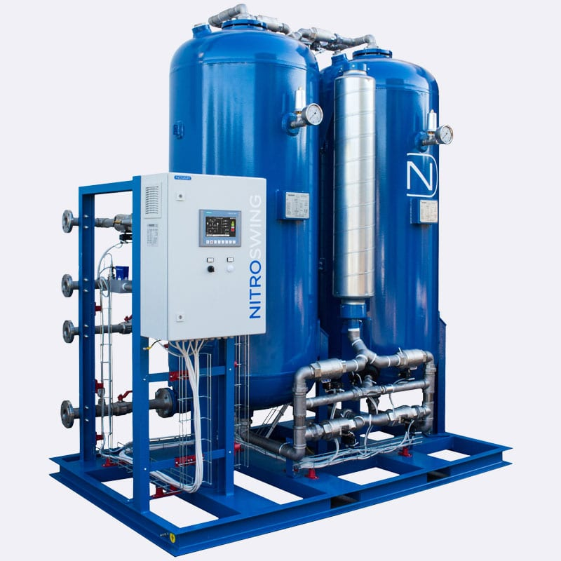 Novair PSA Stikstofgenatoren Nitroplus 4930 Van Elewout Kompressoren