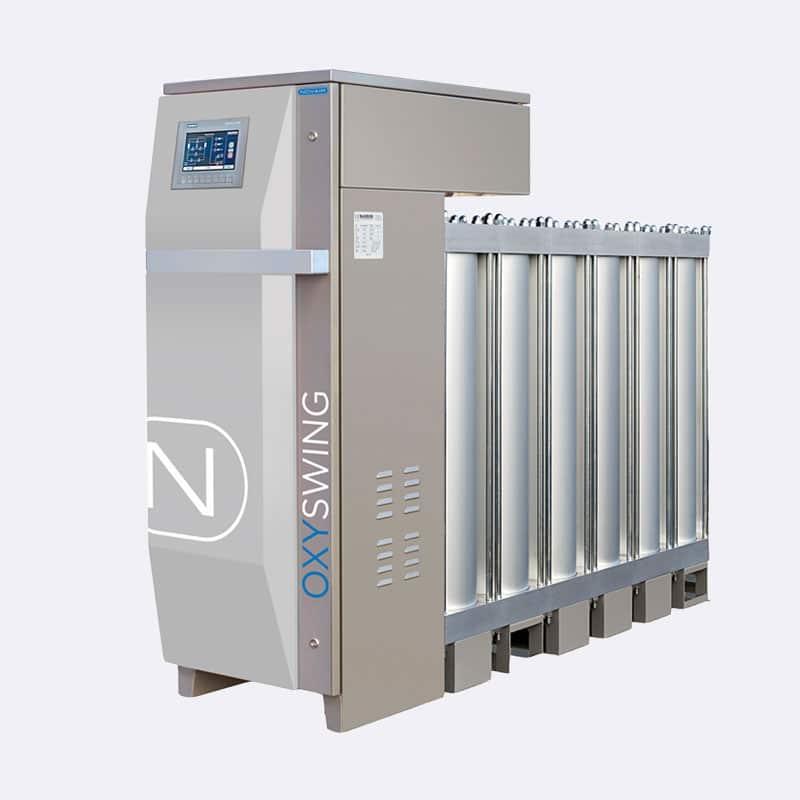 Novair Zuurstofgenratoren Oxyswing OS 48 Van Elewout Kompressoren