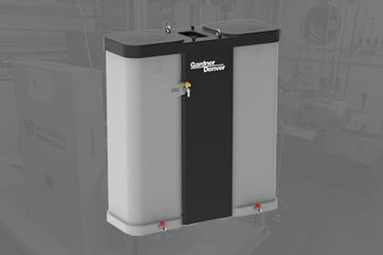 Olie water afscheider compressorGardner Denver Persluchttechniek Van Elewout Kompressoren
