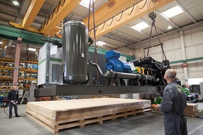 Persluchtketel ABC Compressor Persluchttechniek Van Elewout Kompressoren