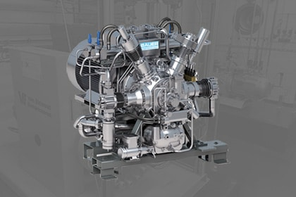 Stikstof booster op maat Gastechniek Van Elewout Kompressoren