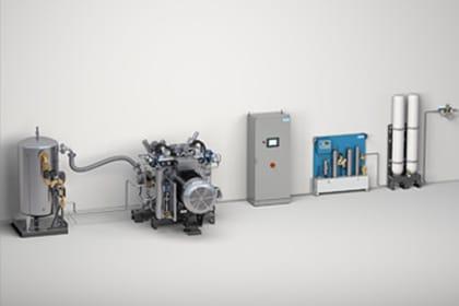 Stikstofproduktie Stikstof Cilinder Gastechniek Van Elewout Kompressoren