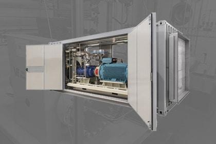 UVG Adicomp biogas compressor Gastechniek Van Elewout Kompressoren