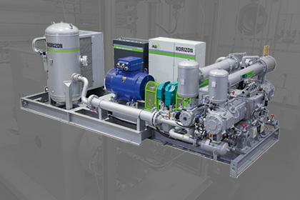 ABC Horizon HA6 PET compressor olievrij Van Elewout Kompressoren