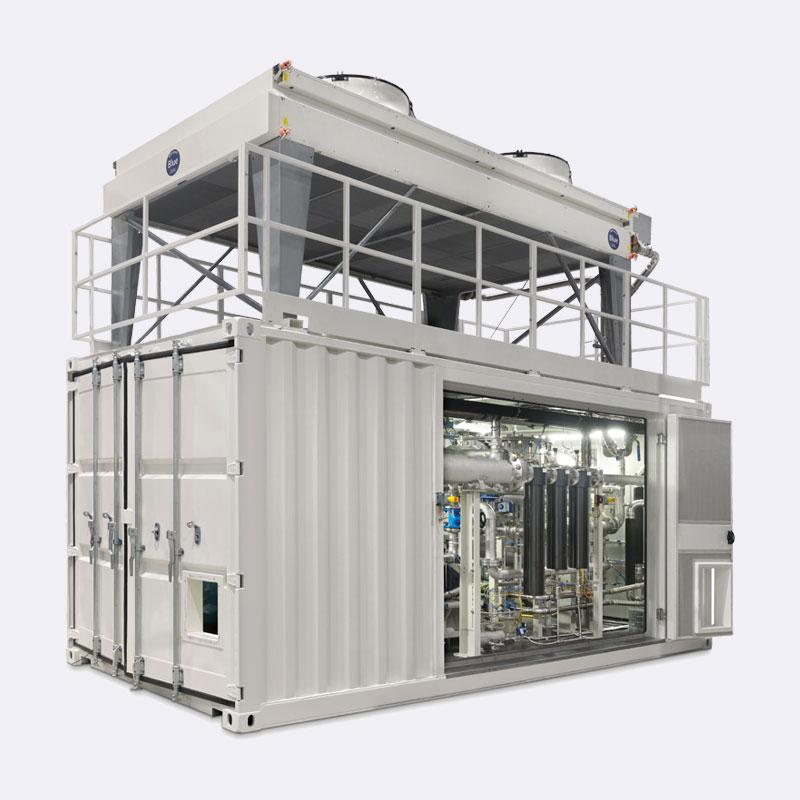 Adicomp Watergekoelde Biogascompressor Van Elewout Kompressoren