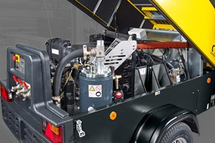 CompAir Mobiele Compressoren Persluchttechniek Van Elewout Kompressoren