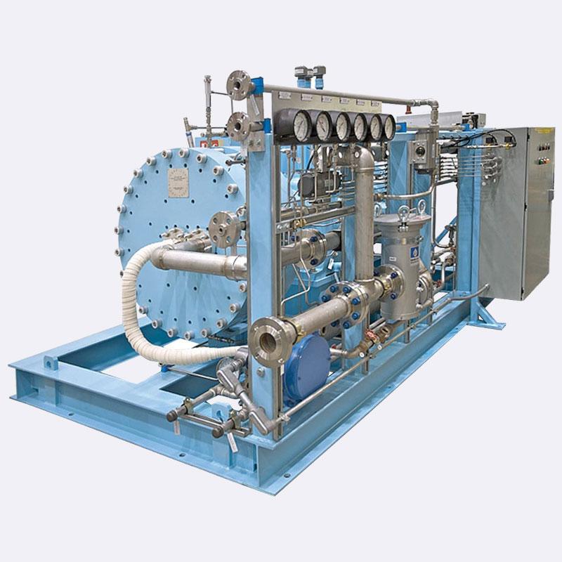 Helium PDC Membraam compressor Van Elewout Kompressoren