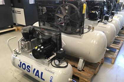 Josval Zuigercompressor Merken Van Elewout Kompressoren