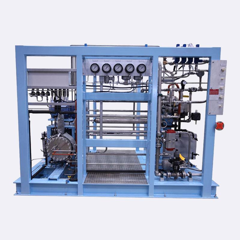 Membraan Gas booster compressor-Booster compressor-Van-Elewout-Kompressoren