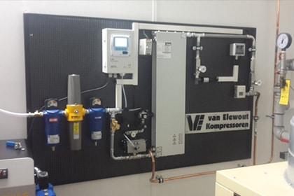 Novair Stikstof Membraan Compressor Merken Van Elewout Kompressoren