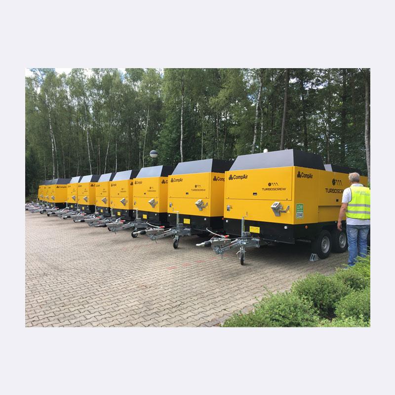 Onderhoud Compressor Huren Mobiele Compressor Van Elewout Kompressoren