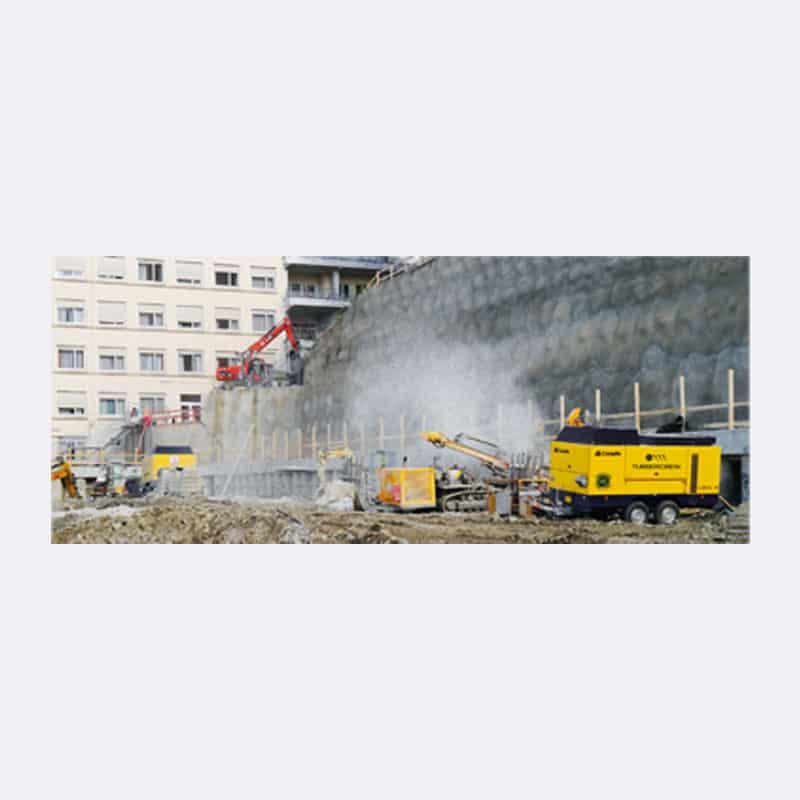 Onderhoud Compressor Huren Mobiele Compressors Van Elewout Kompressoren