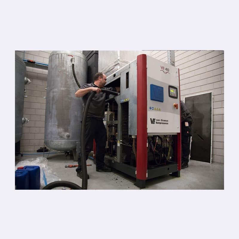 Onderhoud Service Reparaties Van Elewout Kompressoren