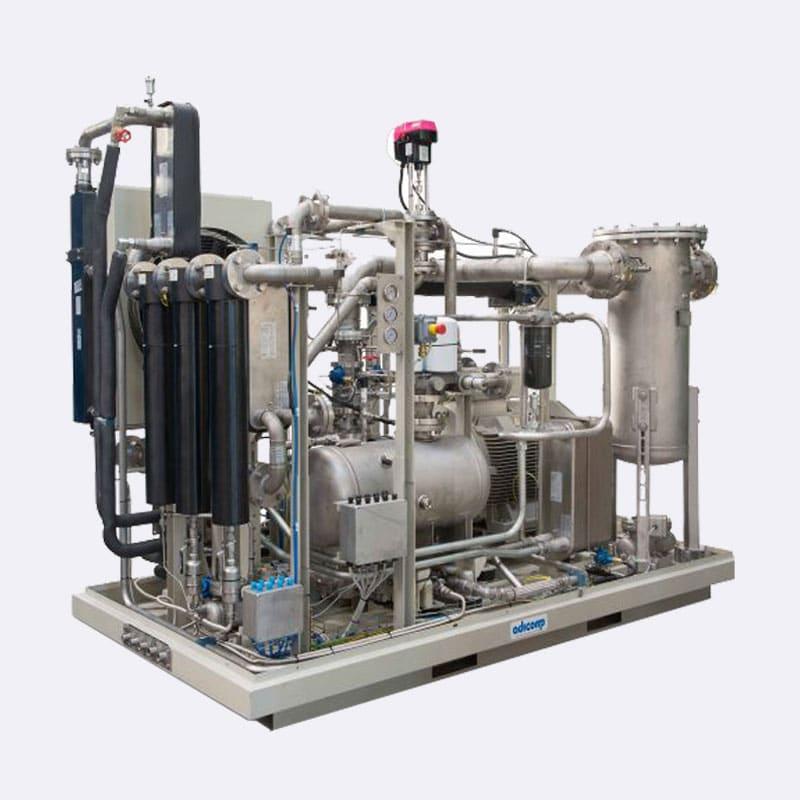 Openframe booster schroefcompressor-Booster compressor-Van-Elewout-Kompressoren