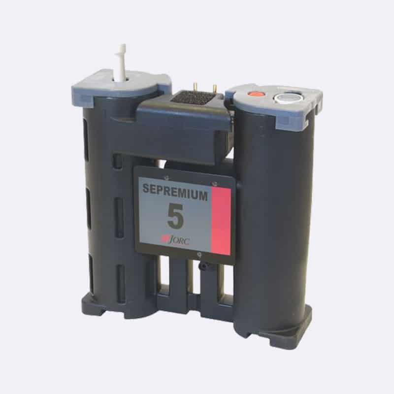 Sepremium 5-Olie- Waterafscheider-Van-Elewout-Kompressoren