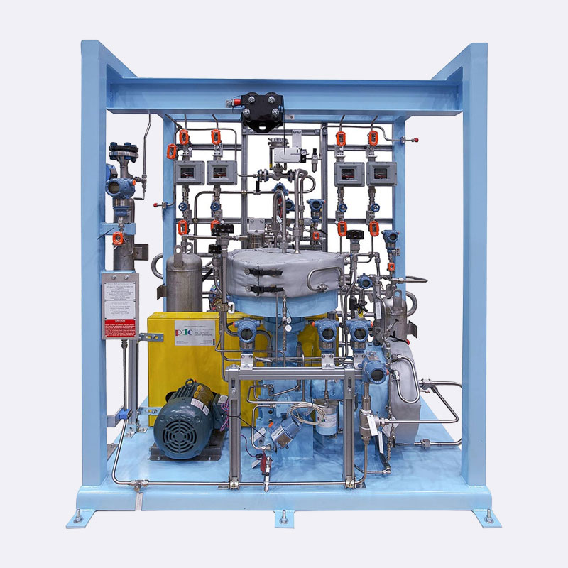 Waterstof Membraan compressor Van Elewout Kompressoren