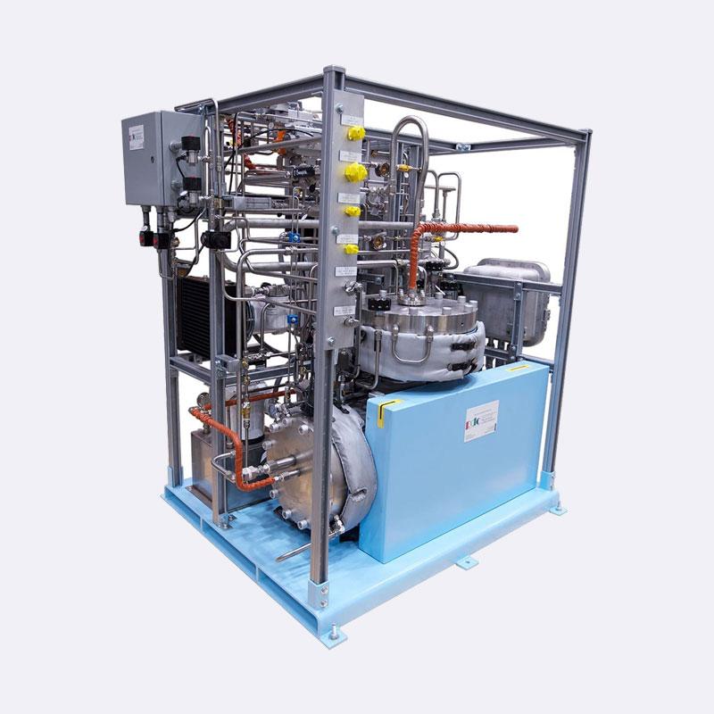 Waterstof compressor Tweetraps membraan compressor PDC 3-300 Van Elewout Kompressoren