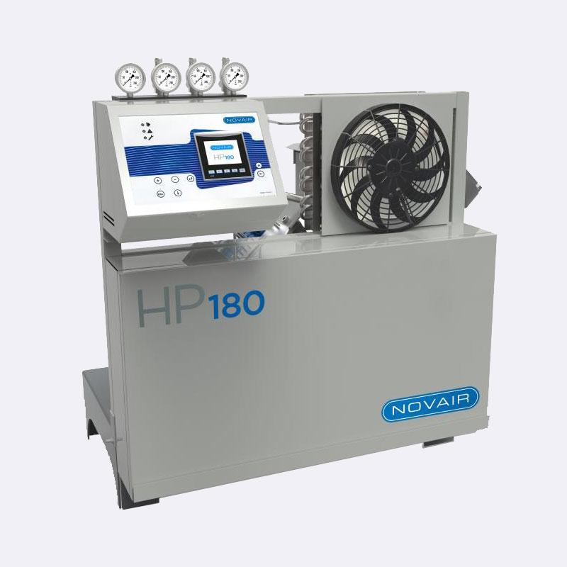Zuurstof compressor Novair HP 180 Van Elewout Kompressoren
