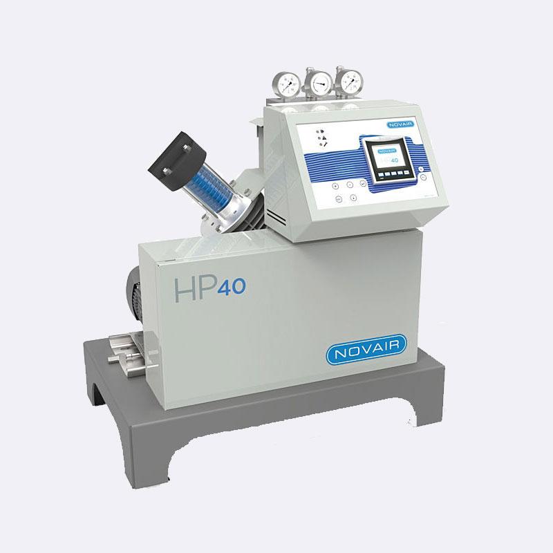 Zuurstofcompressor Novair HP40 zuurstof booster Van Elewout Kompressoren