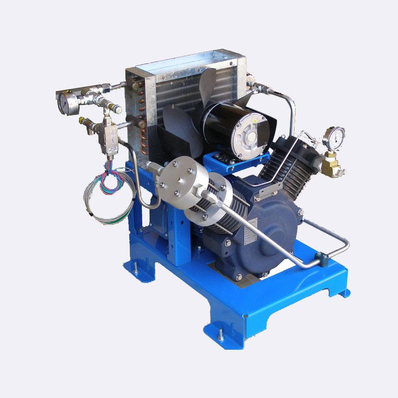 Zuurstofcompressor Noviar MP 2250 zuurstof booster Van Elewout Kompressoren