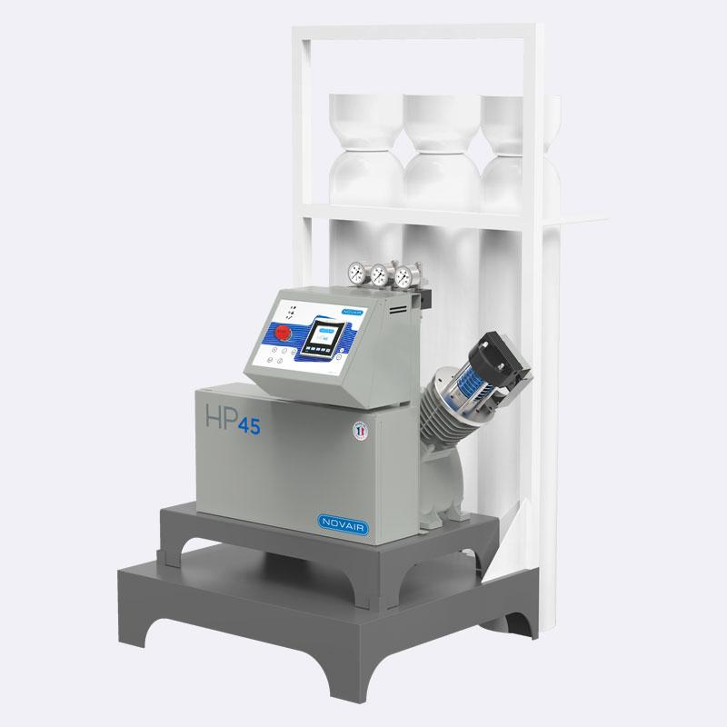 Zuurstofgenerator Zuurstofcompressor HP45 Van Elewout Kompressoren